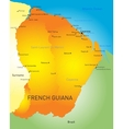 French Guiana vector image vector image