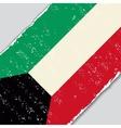 Kuwait grunge flag vector image vector image