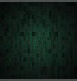random binary code vector image vector image