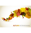 Autumn abstract floral