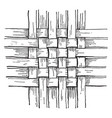 checker work basket weave the simplest form