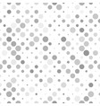 geometrical circle pattern background - repeating vector image vector image