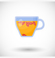 goji berries tea flat icon