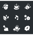 Icons Set of Tea ceremony vector image vector image