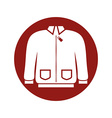 Jacket icon vector image vector image