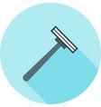 shaving blade vector image