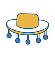 hat accessory icon vector image vector image