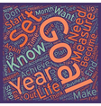 Make Your Life Happen In 2006 text background vector image vector image