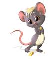 mouse stesnyaetsay vector image