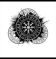 Scandinavian grunge symbols background