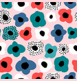 seamless floral pattern pastel texture with vector image