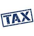 Tax stamp vector image