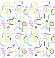 Memphis pattern design Seamless print in vector image
