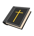 Bible cartoon icon vector image vector image