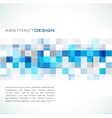 blue abstract banner vector image vector image