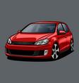 car color 2 vector image