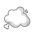 line clouds design and natural weather vector image vector image