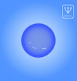 neptune planet astrology vector image vector image