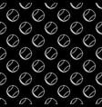 seamless black baseball background vector image