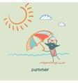 summer vector image