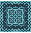blue pattern of interlacing lines vector image vector image