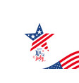 fourth of july 4th of july celebration holiday vector image