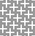 hinduism swastika ornament pattern vector image