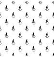 hockey pattern seamless vector image