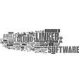 linker word cloud concept vector image vector image