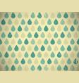 retro raindrops vector image
