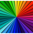 Abstract background spectrum lines vector image