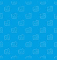 arrow download file pattern seamless blue vector image