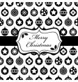 black and Christmas wrapping vector image vector image