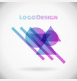 color design element logo in eps10 vector image vector image