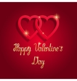 Happy Valentine s day beautiful greeting card vector image vector image