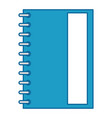 note book isolated vector image
