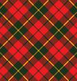 tartan fabric texture diagonal little pattern vector image vector image