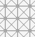White and gray triangular tile ornament vector image vector image