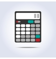 calculator simple icon vector image vector image