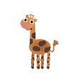 cute cartoon image of an animal funny cute animal vector image vector image