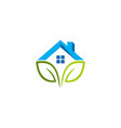 green house logo vector image