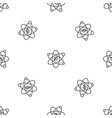leaf atom pattern seamless vector image vector image