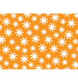 Pattern White Sun vector image vector image