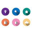 is an icon representing communication vector image vector image