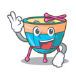 okay cartoon timpani in the orchestra group vector image vector image
