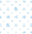 organization icons pattern seamless white vector image vector image