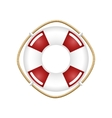Lifebuoy Isolated on White vector image