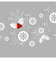 christmas card paper vector image vector image