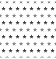 Gray Black Star Abstract White Background vector image vector image