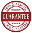 Guarantee stamp vector image